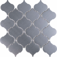 Arabesque Stainless Steel Mosaic Tile JSSL4