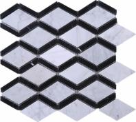 Marble Diamond Mosaic Tile JWHCA6