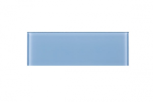 Baby Blue Glass 4x12 Subway Tile JCSB7