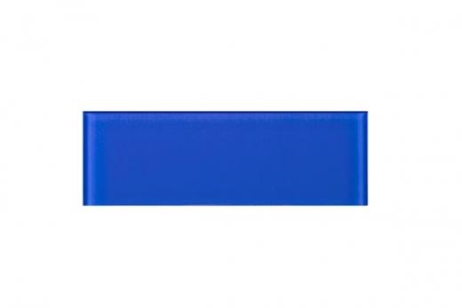 Electric Blue Glass 4x12 Subway Tile JCSB12