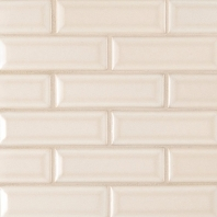 MSI Antique White 2x6 Beveled Subway Tile