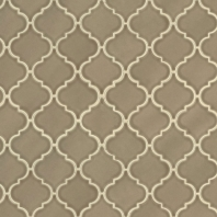 MSI Artisan Taupe Arabesque Mosaic Tile