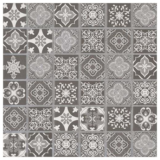 MSI Anya Charcoal 2x2 Moroccan Mosaic Tile