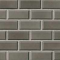 MSI Charcoal Beveled 2x4 Subway Tile