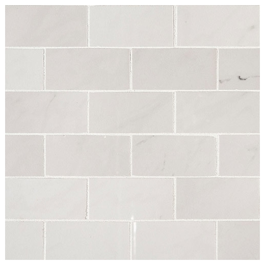 MSI Aria Ice 2x4 Polished Subway Tile