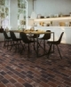 MSI Capella Red 5x10 Brick Mosaic Tile