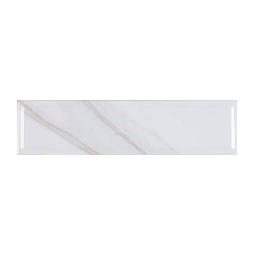 MSI Classique White Calacatta 4x16 Subway TIle