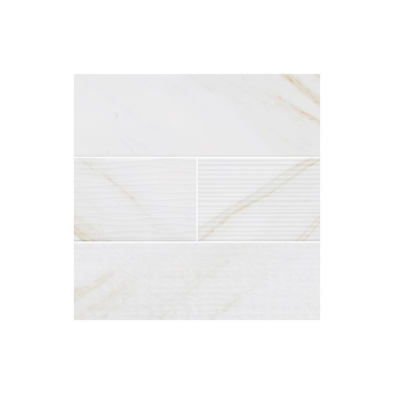 Msi Classique White Calacatta 4x16 Mix Subway Tile Home