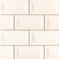 MSI Almond 3x6 Inverted Beveled Subway Tile