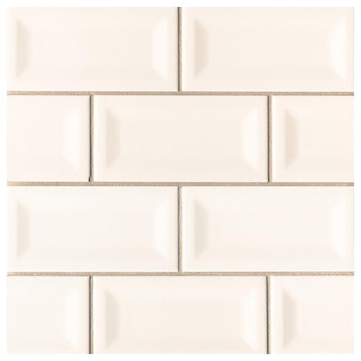 Msi Almond 3x6 Inverted Beveled Subway Tile Home Decor Az