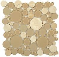 Tile Bubble Full Sheet Sable Brown BFS-201