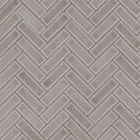 MSI Dove Gray Herringbone Tile