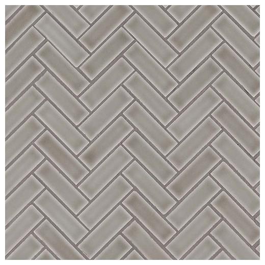 Msi Dove Gray Herringbone Tile