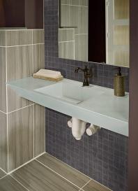 MSI Focus Graphite 2x2 Mosaic Tile