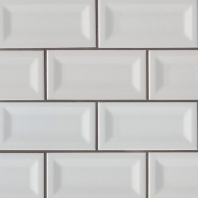 MSI Gray 3x6 Inverted 3D Subway Tile