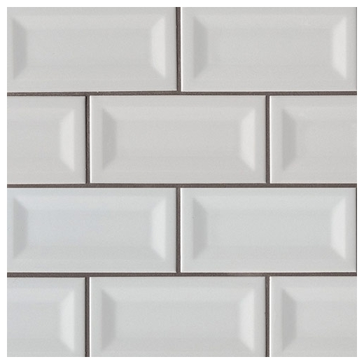 Msi Gray 3x6 Inverted 3d Subway Tile Home Decor Az
