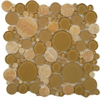 Tile Bubble Full Sheet Butterscotch BFS-501