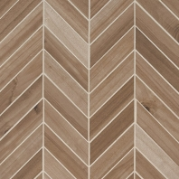 MSI Havenwood Saddle Chevron Mosaic Tile