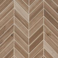 MSI Havenwood Saddle Chevron Mosaic Tile