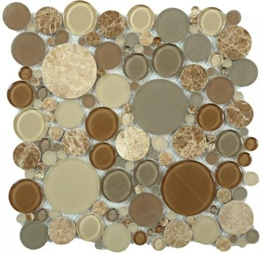 Glazzio Bubble Full Sheet Toffee BFS-801