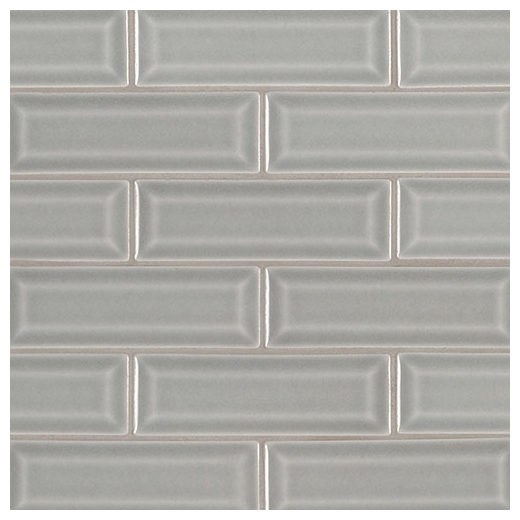 Msi Morning Fog 2x6 Beveled Subway Tile Home Decor Az