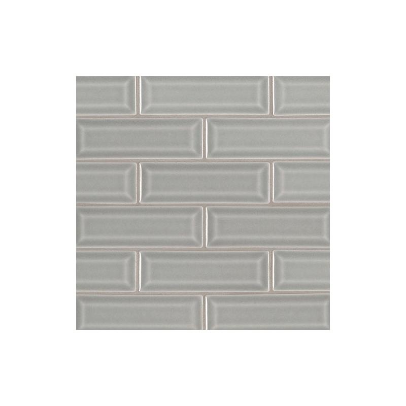 Msi Morning Fog 2x6 Beveled Subway Tile Home Decor Az