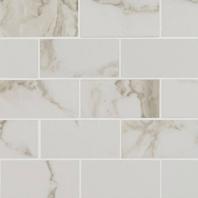 MSI Pietra Calacatta 2x4 Mosaic Tile