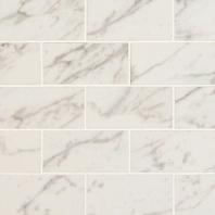 MSI Pietra Carrara 2x4 Mosaic Tile