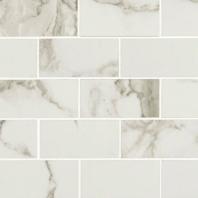 MSI Pietra Statuario 2x4 Mosaic Tile