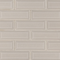 MSI Portico Pearl 2x6 Beveled Subway Tile