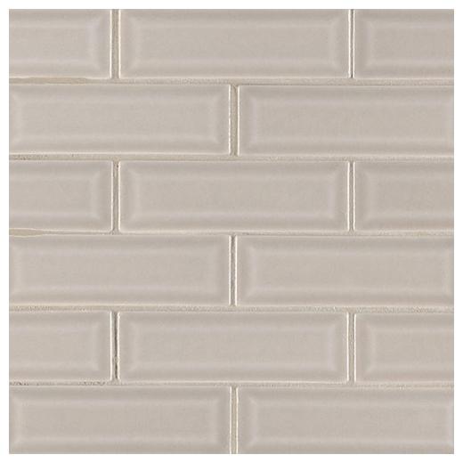 MSI Portico Pearl 2x6 Beveled Subway Tile