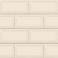 MSI Almond 3x6 Beveled Subway Tile