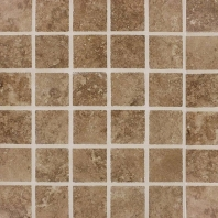 MSI Travertino Walnut 2x2 Mosaic Tile