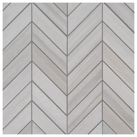 Chevron Marble Rug: MSI Watercolor Bianco Chevron Mosaic Tile