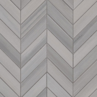 MSI Watercolor Grigio Chevron Mosaic Tile