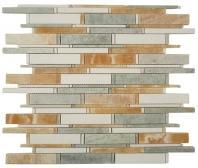 Tile Cascade Honey Onyx Ming Green Thassos White CS-95