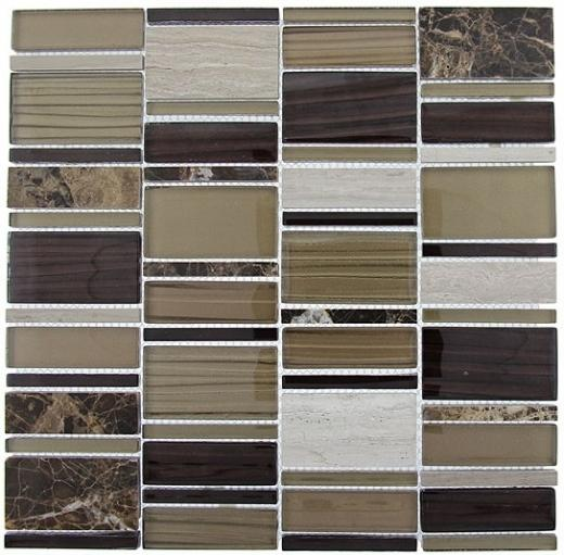 Tile Corrugated Olivine Shell CSS-120