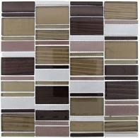Tile Corrugated Olivine Shell CSS-122