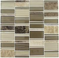 Tile Corrugated Olivine Shell CSS-124
