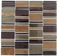 Tile Corrugated Olivine Shell CSS-129