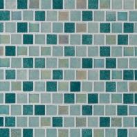 MSI Caribbean Jade 1x1 Mosaic Tile