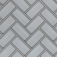 MSI Ice Beveled Herringbone Tile