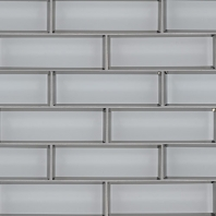 MSI Ice Beveled Subway Tile
