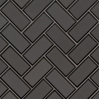 MSI Metallic Gray Beveled Herringbone Tile