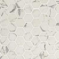 "MSI Statuario Celano 2"" Hexagon Tile"
