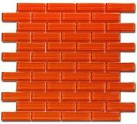 Tile Crystile Orange Burst C13-2