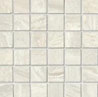 Bedrosians Acadia Porcelain Grey Polished Mosaic Tile