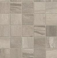 "Bedrosians Athena 2"" x 2"" Grey Porcelain Mosaic Tile"