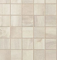 """Bedrosians Athena 2"""" x 2"""" White Porcelain Mosaic Tile"""