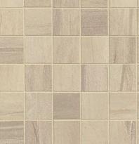 """Bedrosians Athena 2"""" x 2"""" Beige Porcelain Mosaic Tile"""